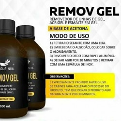 Remov Gel Unique Nail...