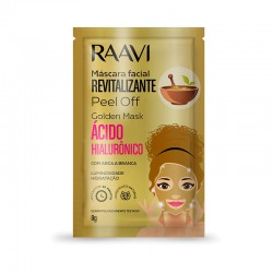 Máscara Facial Raavi Gold...
