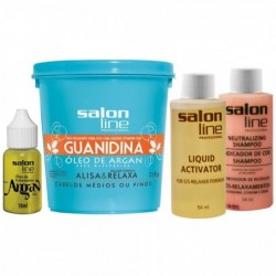 Kit Guanidina Salon Line...