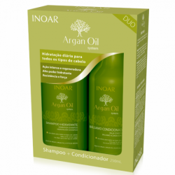 Inoar Kit Argan Shampoo +...