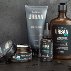 Kit Barba Farmaervas Urban...