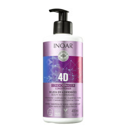 Condicionador Inoar 4D 400ml