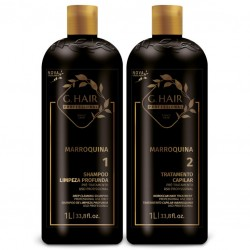 G.Hair Marroquina Escova...